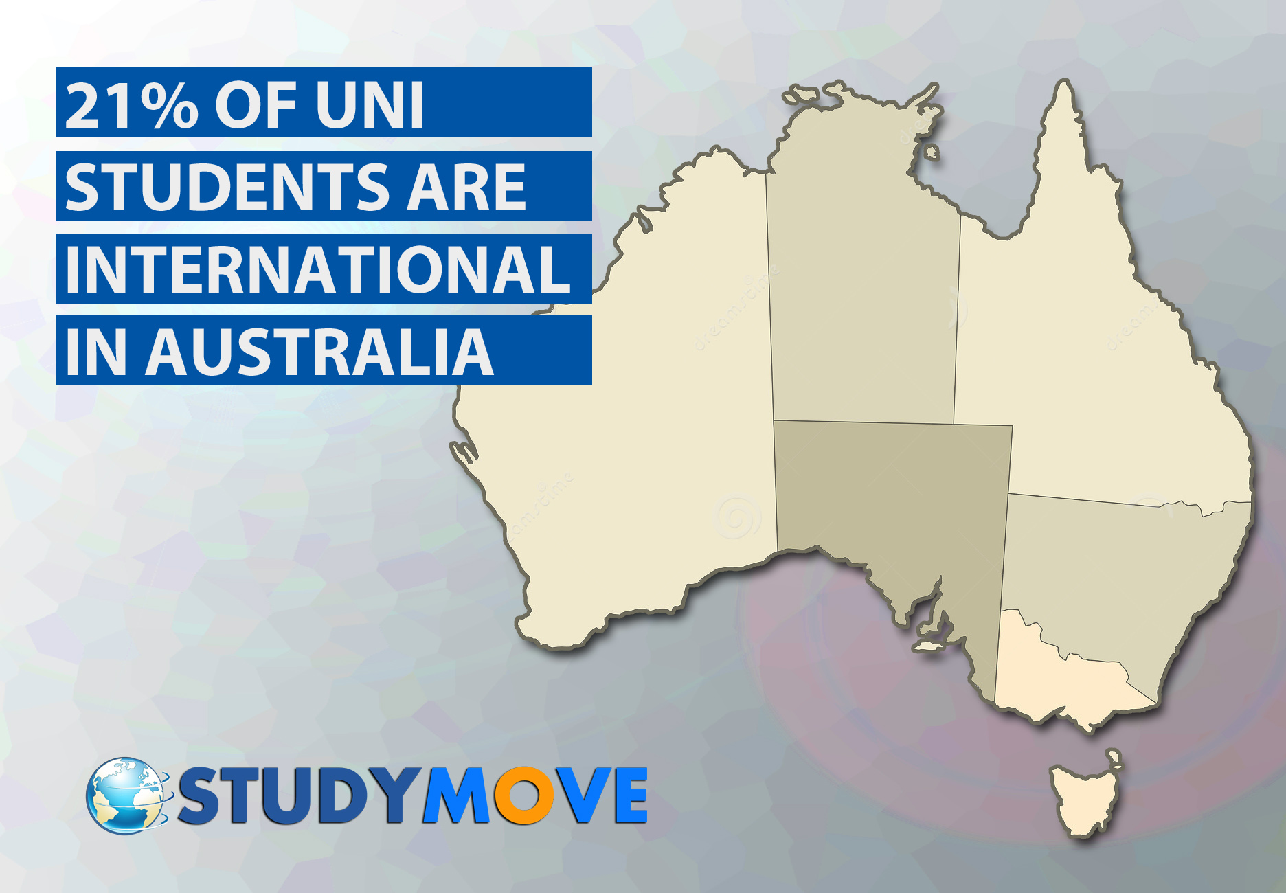Map Of Australia For Students.What Is The Percentage Of International Students In Australia