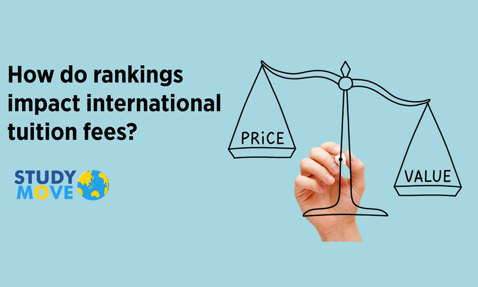 The Relationship between Rankings and Fees